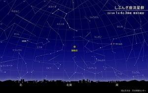 年始めの「しぶんぎ座流星群」に願いを!見頃は1月4日夜明け前