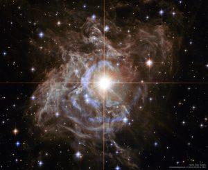 全天の中で重要な星「とも座RS星」の光エコー現象