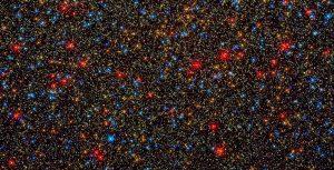 大規模な球状星団のパノラマ