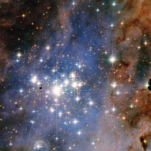 まばゆい星団の中にある「ボック・グロビュール」