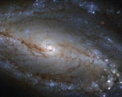 南天の星座の超大質量ブラックホールからなる銀河