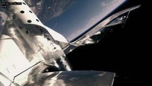 乗客乗せての宇宙飛行に成功 ヴァージン・ギャラクティックのスペースシップツー