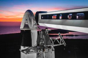スペースXの有人宇宙船「クルー・ドラゴン」 3月2日に無人テスト打ち上げへ