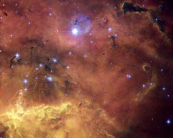 可視光で捉えた幻想的な星のインキュベーター