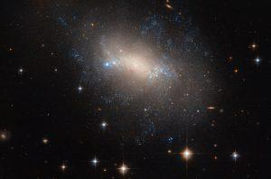 不規則銀河に見られる青い証拠