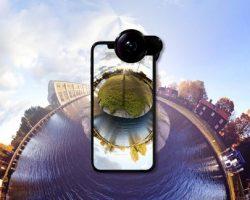 360度撮影がもっと身近に。電源不要の外付けカメラレンズ「Fusion Lens iPhone XS 8/7 8Plus/7Plus」