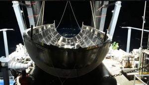 ファルコン・ヘビーのフェアリング回収実施 年内にも再使用へ
