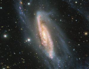 暗い星座からこぼれ落ちた様な銀河