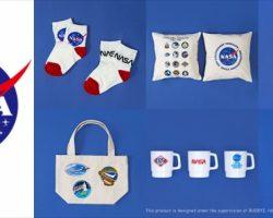全35種。NASAアイテムが「salut!」全店とネットショップで販売開始