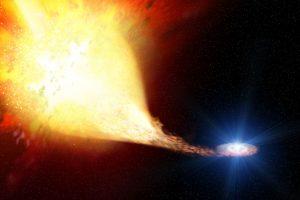 連星系の質量剥ぎ取りから超新星まで