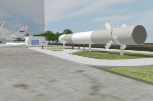 スペースX、着陸ファルコン9をヒューストンにて展示へ