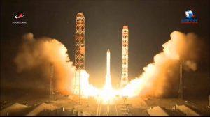 プロトンロケット、Yamal-601衛星打ち上げ実施