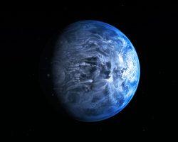 太陽系外の青い巨大ガス惑星