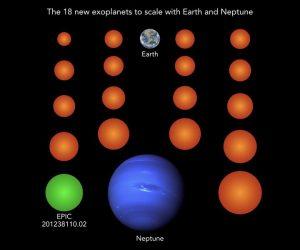 新たに地球サイズの系外惑星を18個発見。ケプラー宇宙望遠鏡のデータを再解析