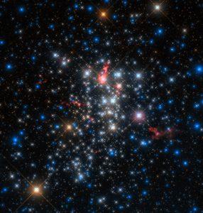 3つの望遠鏡で捉えた天の川銀河の超星団