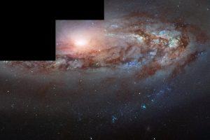 こちらに接近している銀河の青方偏移