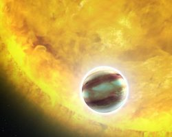 ルビーやサファイアの雲を纏う巨大ガス惑星