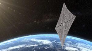 太陽光を帆で受ける「ライトセール2号」信号発信を確認