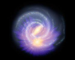 """1億5000万個もの恒星の位置を調べて浮かび上がった""""天の川銀河中心の棒状構造"""""""