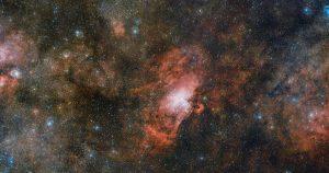 巨大すぎる。9.2GB画像に収められた3つの星雲