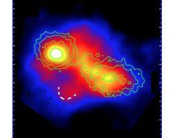 「銀河団」の衝突合体の瞬間を世界初観測!宇宙の大規模な構造形成にせまる