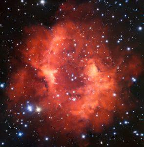 朽ち果てた星が遺した赤の印