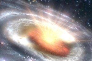 穏やかだった銀河核が急速に活性化。観測された6つの銀河