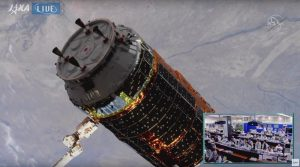 こうのとり8号機、国際宇宙ステーションとドッキング。8回連続ミッション成功