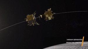 チャンドラヤーン2号、ランダーのヴィクラムを分離成功