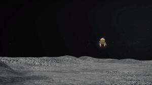 NASAの月探査機LRO、チャンドラヤーン2号の上空飛行を実施