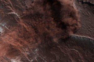 火星の北極最新画像、米欧の宇宙機関が相次いで公開