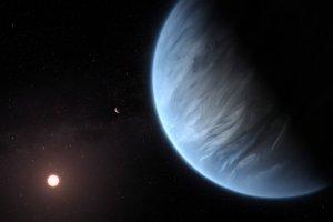 生命居住可能領域にある太陽系外惑星で水蒸気を初検出