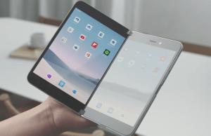 マイクロソフトが2画面折りたたみスマホ「Surface Duo」を発表