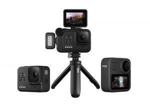 GoPro HERO8 BlackとMAXが登場 モジュラーで画面やライト、マイクを拡張