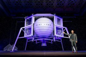 ブルー・オリジン、月面着陸船ブルー・ムーンでロッキード・マーティンらと協力
