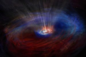 ブラックホール急成長の謎を解く鍵に? 逆向きに回る塵とガスを観測
