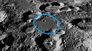 チャンドラヤーン2号の着陸地点の写真が公開
