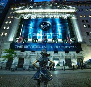 ヴァージン・ギャラクティックがNY証券取引所に上場