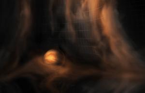 幼い惑星に向かって流れ込む三次元的なガスの動きをアルマ望遠鏡が観測