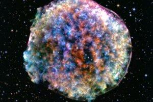 光では見えない「ティコの超新星」の残骸から探る、超新星爆発の対称性