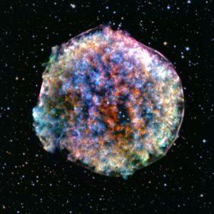 光では見えない「ティコ」の超新星残骸から爆発の対称性を探る