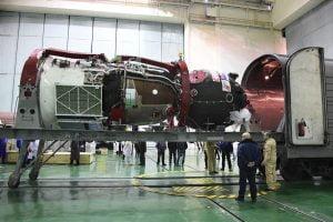 ソユーズ宇宙船がバイコヌールに到着、プログレス補給船も準備中