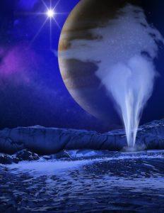 エウロパから噴出した水蒸気、地上から初観測。地球外生命の可能性に近づく