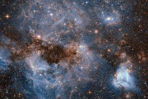 銀河の相互作用と大質量星の誕生、2つを結びつける「要(かなめ)」をアルマが観測