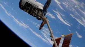 シグナス補給船がISSに到着 ISSへと物資輸送
