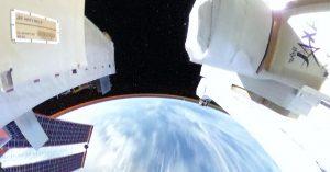 「宇宙仕様のTHETA」で撮影した全天球画像の第2弾が公開