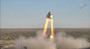 ボーイングのスターライナー宇宙船、緊急脱出装置のテストに成功