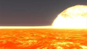 1年の長さが地球の1日。表面温度1800度のスーパー・アースが見つかる