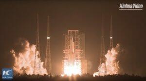 中国、超大型運搬ロケット「長征5号遥3」打ち上げ成功。今後の月・火星探査が加速