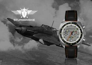 ソ連の空軍パイロットが愛用した腕時計を忠実再現。限定300個で復活